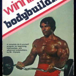 Alt text for Winning Bodybuilding front cover Franco Columbu