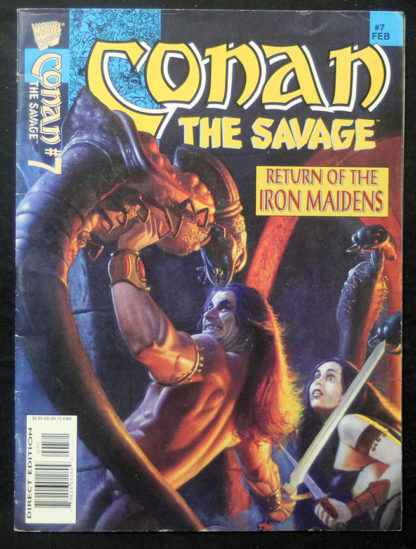 conan savage 7