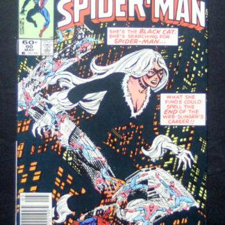 peter parker spectacular spiderman 90