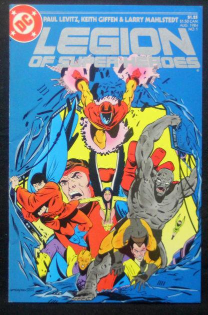 legion of superheroes 1