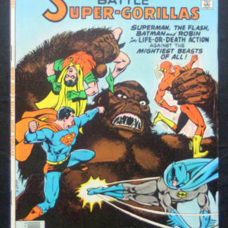 super Heroes battle super gorillas