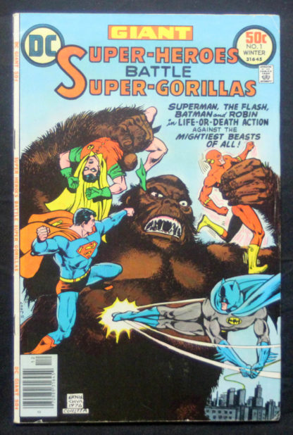 super Heroes battle super gorillas